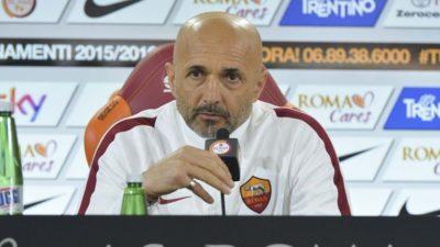 Luciano Spalletti nella conferenza stampa pre-Palermo