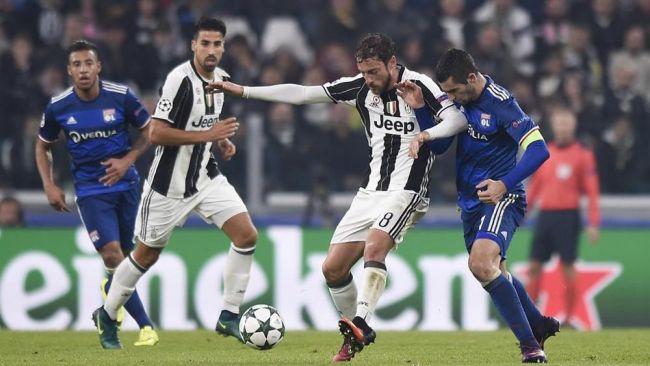 Juventus-Lione, voti