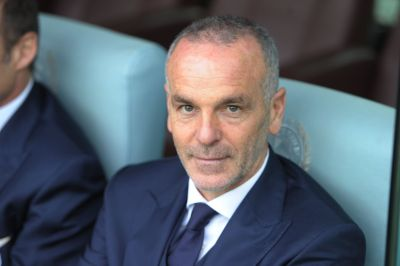 UDINE, ITALY - JANUARY 31:  Head coach  of SS Lazio Stefano Pioli looks on  during the Serie A match between Udinese Calcio and SS Lazio at Dacia Arena on January 31, 2016 in Udine, Italy.  (Photo by Dino Panato/Getty Images)