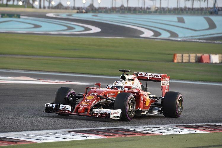 Dopo 7 gare d'astinenza, la Ferrari è tornata sul podio grazie a Vettel (foto da: thecheckeredflag.co.uk)