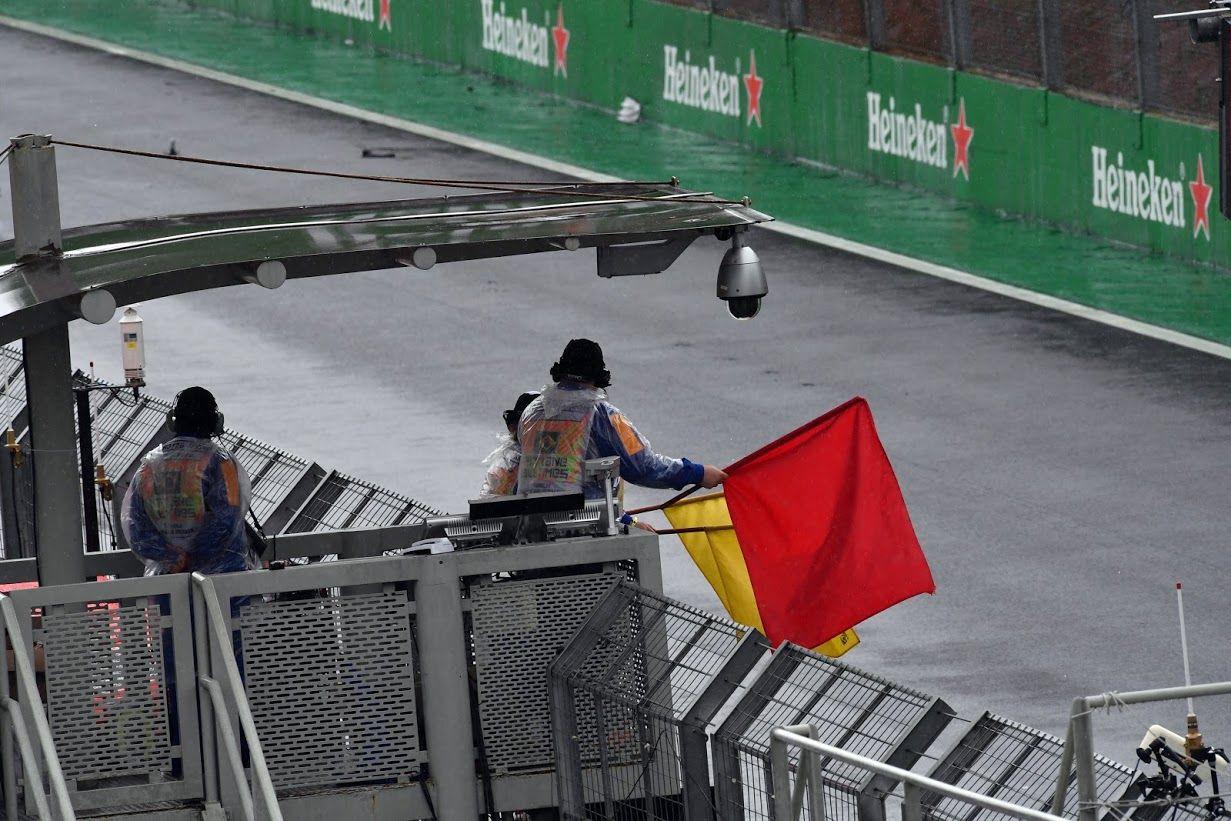 Per ben due volte, ieri è stata sventolata la bandiera rossa (foto da: fast-mag.com)