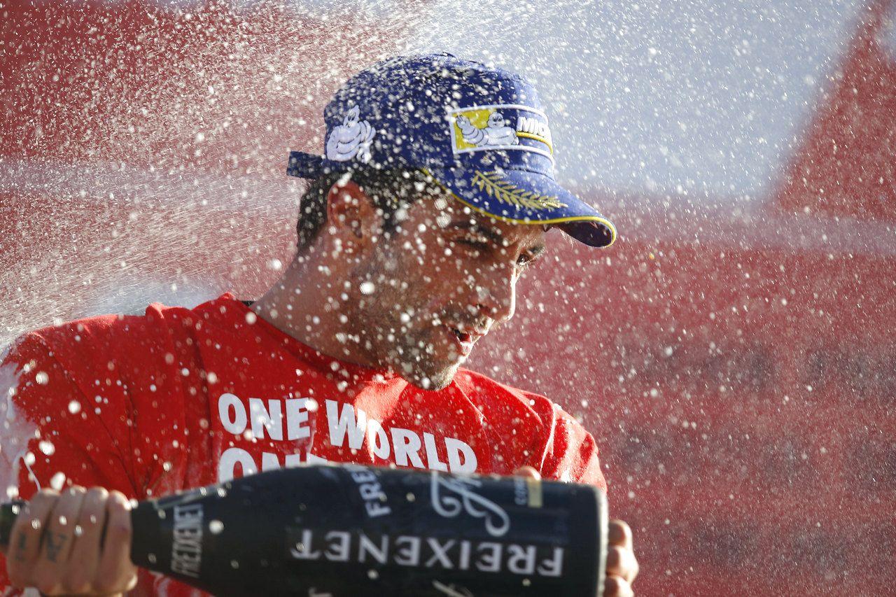 Ottimo podio per Andrea Iannone, alla sua ultima uscita in Ducati (foto da: motoblog.it)