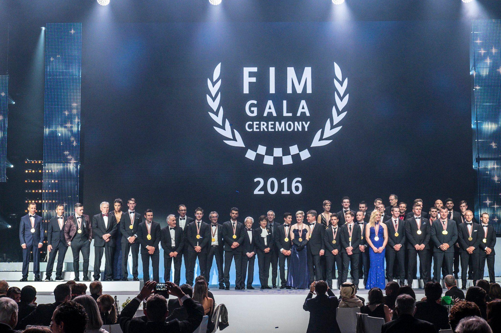A Berlino si è tenuto il Gala della FIM 2016 (foto da: motoblog.it)