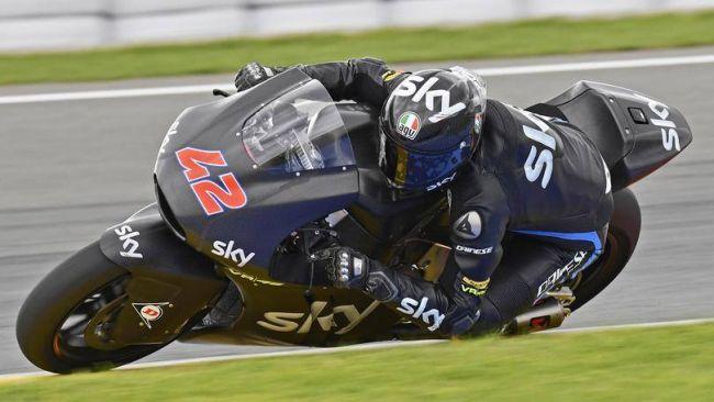 Francesco Bagnaia, il più veloce nei test di oggi della Moto2 (foto da: corrieredellosport.it)