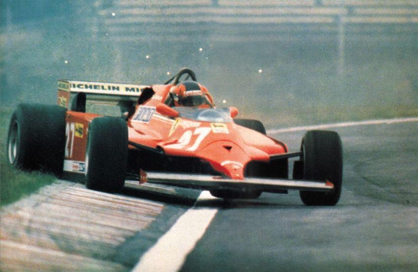 Gilles Villeneuve è stato il pilota che Paolo Scaramelli, storico capo-meccanico della Ferrari, scomparso stanotte, ha amato di più nel corso della sua lunghissima carriera (foto da: studiobergonzini.com)