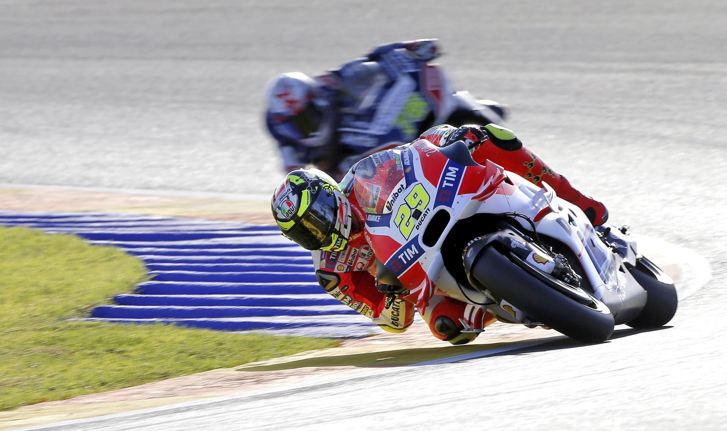 Andrea Iannone conclude la sua esperienza in Ducati con un bel podio (foto da: corrieredellosport.it)