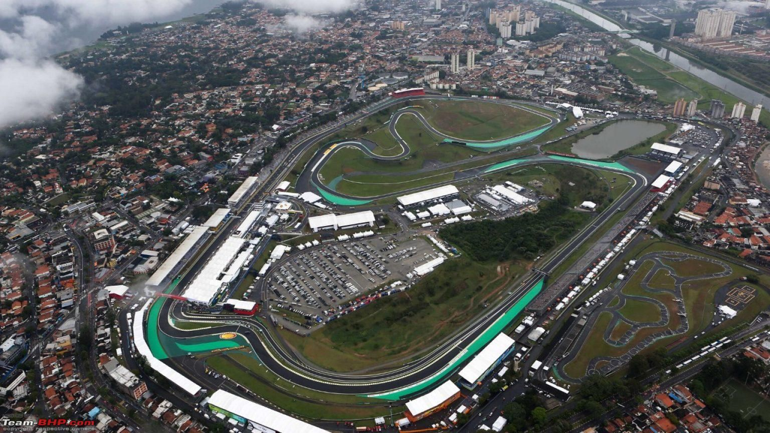 Vista dall'alto del circuito di Interlagos, intitolato alla memoria di Carlos Pace (foto da: team-bhp.com)