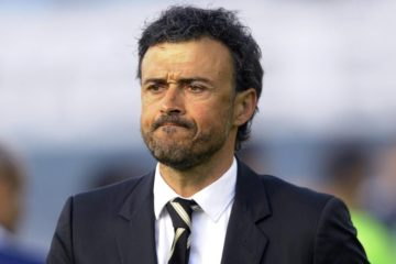 Luis Enrique, ex tecnico del Barcellona