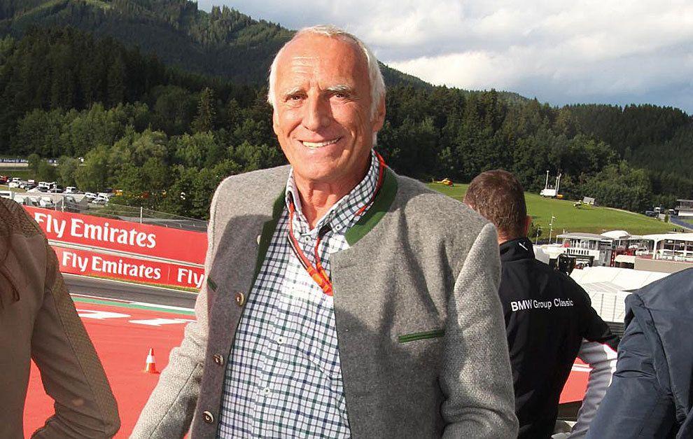 Il patron della Red Bull, il 72enne austriaco Dietrich Mateschitz (foto da: marca.com)