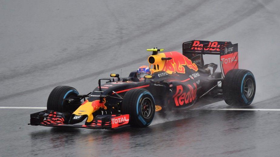 Max Verstappen, durante la gara di domenica (foto da: lapresse.ca)