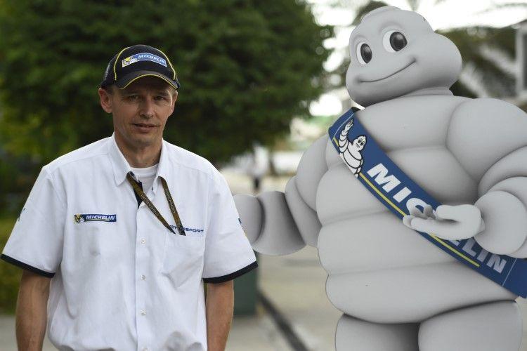 Nicolas Goubert, direttore tecnico e supervisore del programma MotoGP della Michelin (foto da: yellowbiker.com)