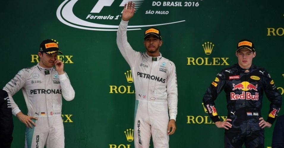 Il podio del Gran Premio del Brasile 2016 (foto da: noticias.bol.uol.com.br)