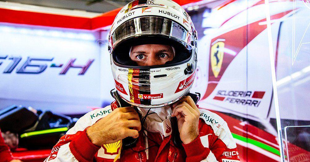 5° posizione in qualifica per Sebastian Vettel che, domani, sarà affiancato in terza fila da Verstappen (foto da: mobil.sportku.com)