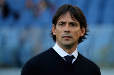 ROME, ITALY - APRIL 17:  SS Lazio head coach Simone Inzaghi looks on during the Serie A match between SS Lazio and Empoli FC at Stadio Olimpico on April 17, 2016 in Rome, Italy.  (Photo by Paolo Bruno/Getty Images)