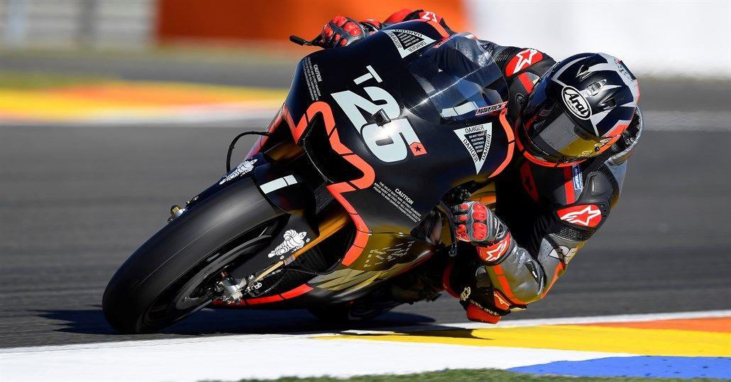Anche il secondo giorno di test di Valencia ha visto Vinales in cima alla classifica dei tempi (foto da: moto.it)
