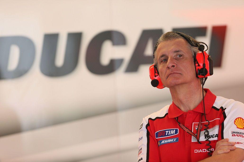 Il direttore sportivo della Ducati, Paolo Ciabatti (foto da: ridertua.com)