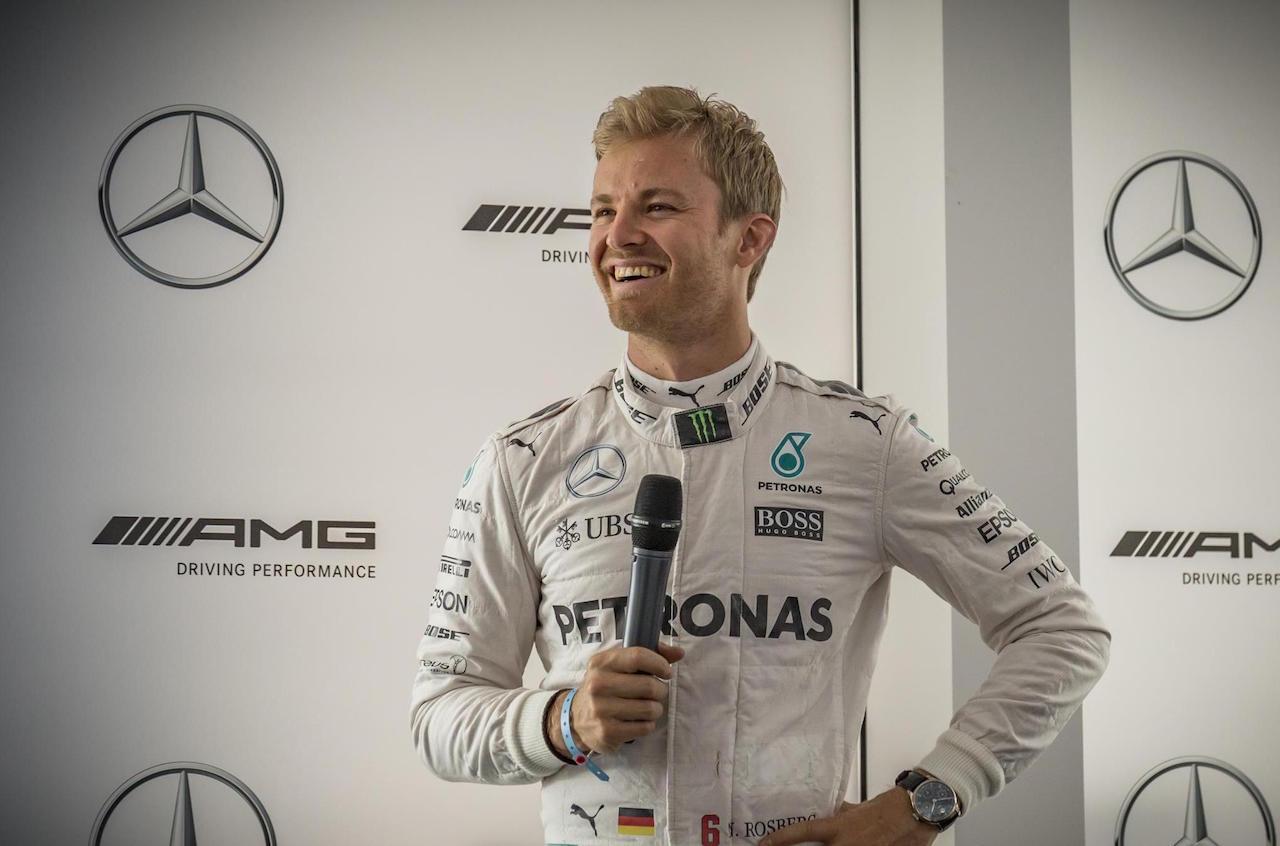 Nico Rosberg, Campione del Mondo di Formula 1 (foto da: performancedriver.com.au)