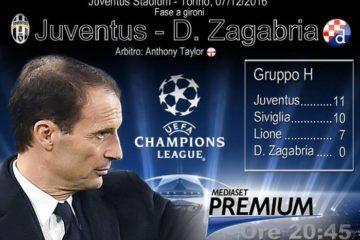 Champions League, Juventus-Dinamo Zagabria (elaborazione)