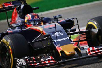 Daniil Kvyat, al volante della Toro Rosso, durante il GP d'Italia 2016 (foto da: quoteallthethings.com)