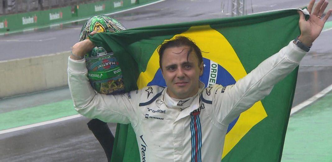 Una delle immagini che più ci resteranno impresse di questo 2016: le lacrime di Felipe nel giorno della sua ultima apparizione nel Gran Premio del Brasile (foto da: wtf1.co.uk)