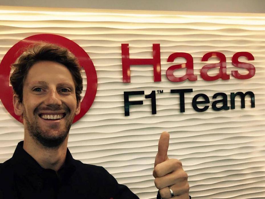 Romain Grosjean, 13° in classifica al termine del 2016 con 29 punti (foto da: meltyxtrem.fr)