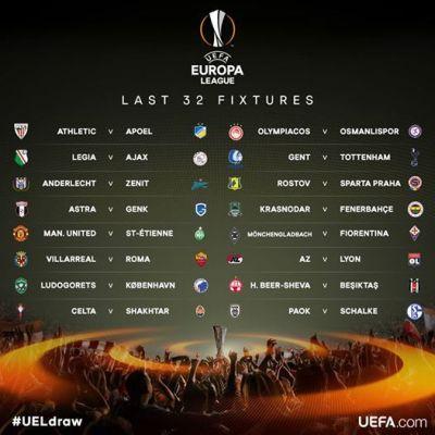 Calendario Sedicesimi Europa League 2021 Europa League, sedicesimi di finale: calendario con orari e date