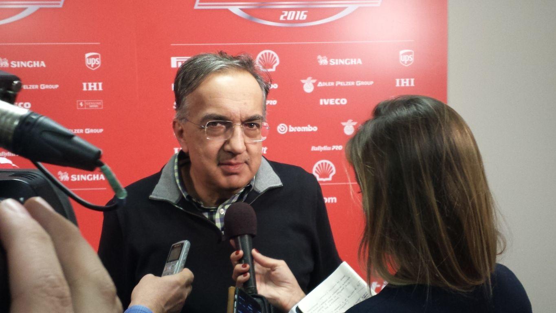 Sergio Marchionne, presidente e amministratore delegato di Ferrari S.p.A. (foto da: cupscene.com)