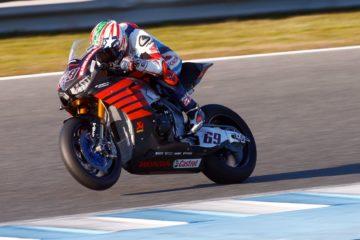 Nicky Hayden, in sella alla nuova Honda SBK, testata per la prima volta questa settimana, a Jerez (foto da: super7moto.com)