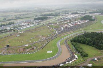 Vista dall'alto del circuito di Donington (foto da: foxsports.com)