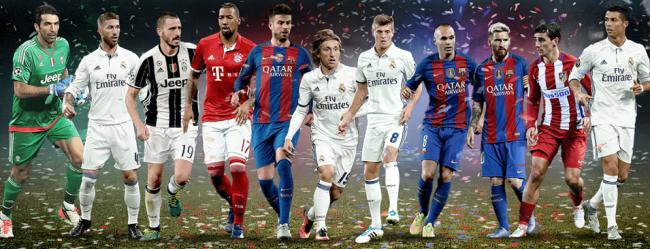 uefa toty 2016