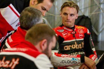 Chaz Davies, pilota di punta della Ducati in Superbike (foto da: cycletorque.com.au)