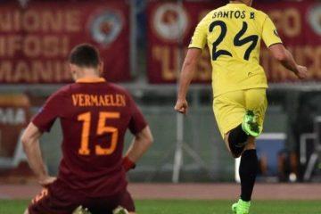 roma-villarreal-0-1-video-gol