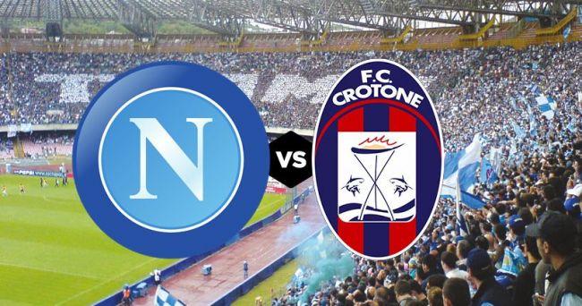 Napoli-Crotone, 29° giornata Serie A 03-04-2021.