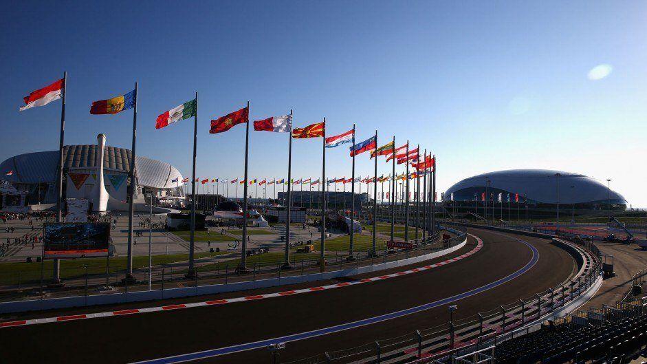 Il Sochi Autodrom è pronto ad ospitare la quinta edizione del Gran Premio di Russia (foto da: twitter.com)