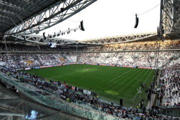 """Juventus Stadium (Juventus).Torino 8/9/2011 Stadio """"Juventus stadium"""".Football Calcio 2011/2012 Friendly match.Football Calcio Juventus Vs Notts County.Foto Insidefoto Alessandro Sabattini..."""