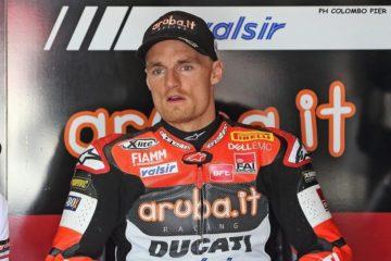 Chaz Davies salterà domani Gara-2, a causa dell'incidente patito in Gara-1 con Rea (foto da: oasport.it)