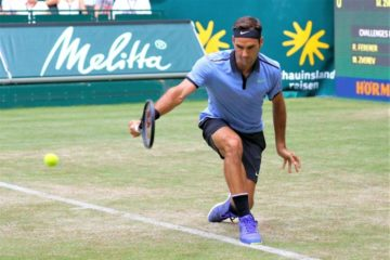 Federer-Backhand-Halle