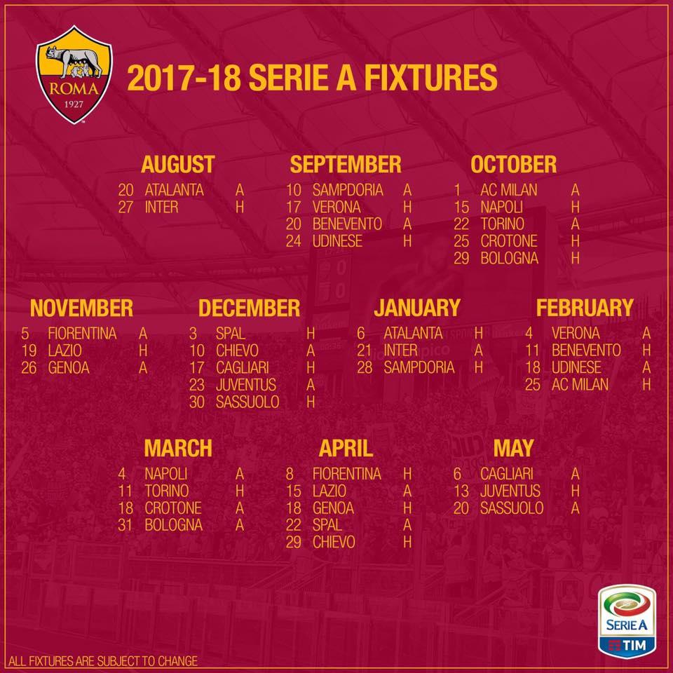 Maschio O Femmina Calendario Maya.Calendario Partite As Roma Calendario 2020