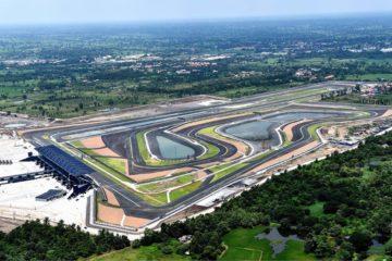 Il Buriram International Circuit, che questo weekend ospiterà la seconda edizione del Gran Premio di Thailandia, esordiente lo scorso anno nel Motomondiale (foto da: blog.livedoor.jp)