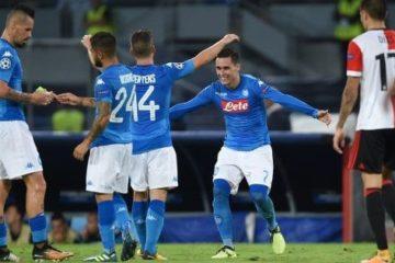 Napoli-Feyenoord 3-1