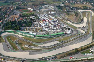 Visuale aerea del circuito di Misano Adriatico, intitolato a Marco Simoncelli (foto da: motogp.com)