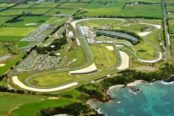 Il circuito australiano di Phillip Island, sede del Gran Premio d'Australia sia per il Motomondiale che per la Superbike (foto da: asphaltandrubber.com)