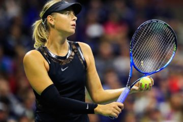 sharapova us open 2017
