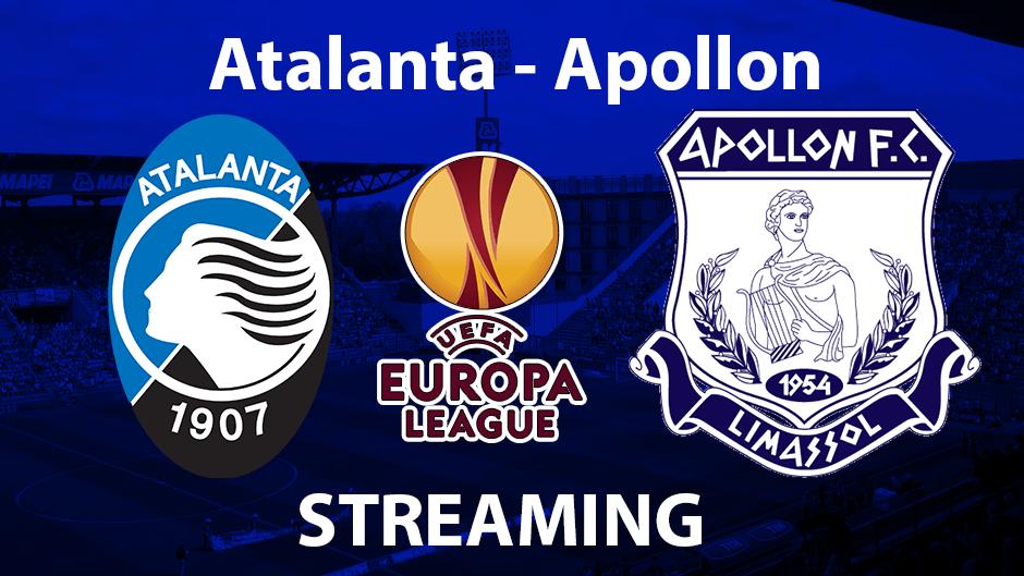 Atalanta-Apollon Streaming