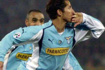 Cesar con la maglia della Lazio