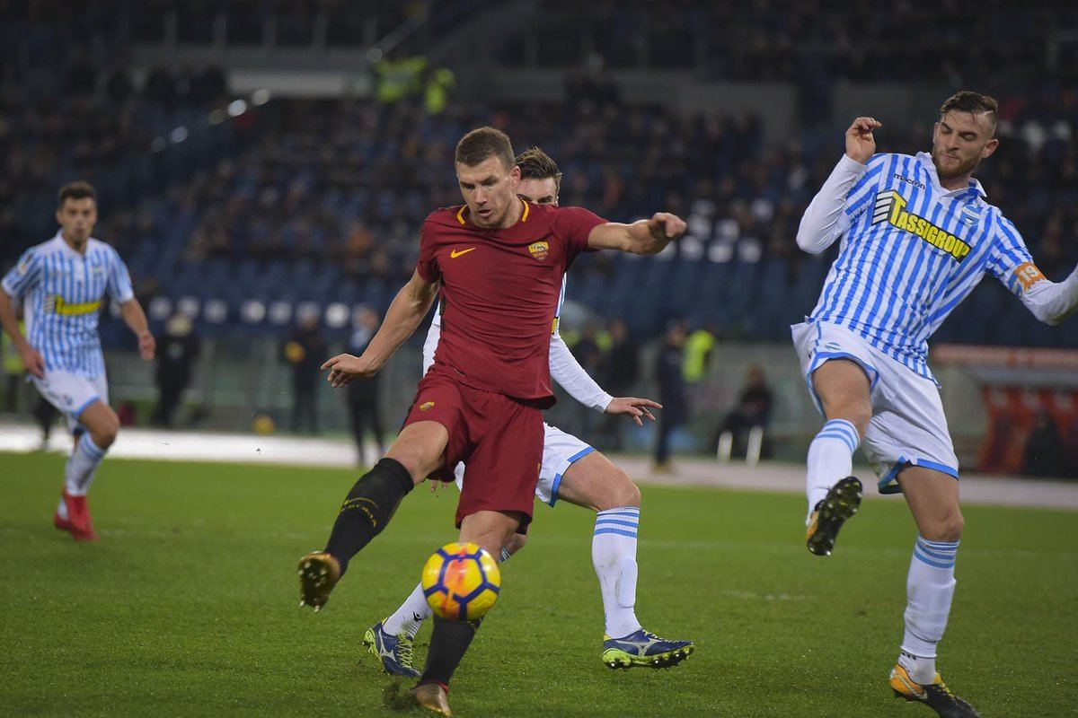 Roma-Spal 3-1 Video Gol Highlights: tutto facile per la Roma, torna al gol  Dzeko