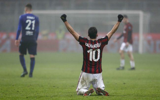 Calciomercato: Calhanoglu potrebbe finire all'Inter.