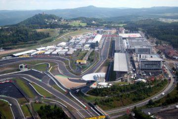 Vista del circuito del Nurburgring. La società che lo gestisce vuole riportarci la Formula 1 a partire dal 2019 (foto da: twitter.com)