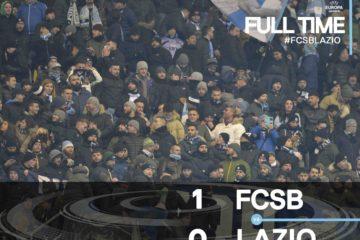 Steaua Bucarest-Lazio 1-0, andata dei sedicesimi di finale di Europa League immagine tratta da profilo twitter ufficiale della Lazio all'indirizzo --> https://twitter.com/officialsslazio