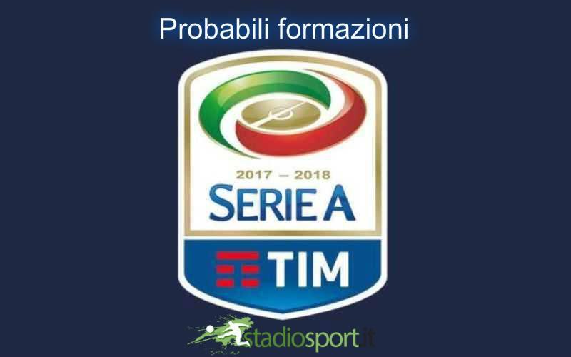 Probabili Formazioni 25 Giornata Serie A 17 18 19 2 2018 Stadiosport It